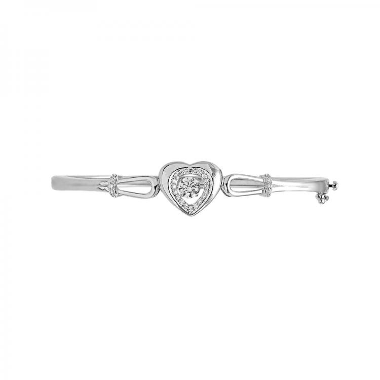 Encompassing Heart Bracelet