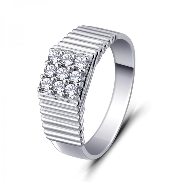 Exquisite cubic zirconia Ring