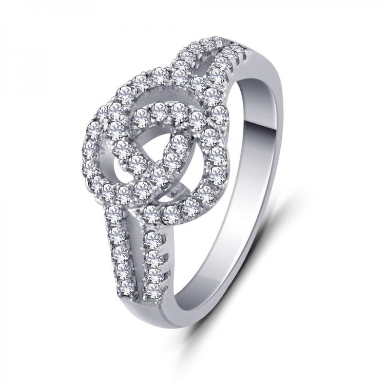Twisted Love Knot Ring
