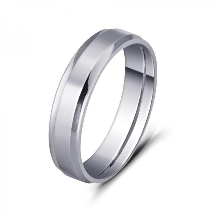 Sophisticated Sterling Silver Band