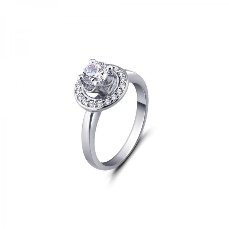 Delicate Solitaire Ring