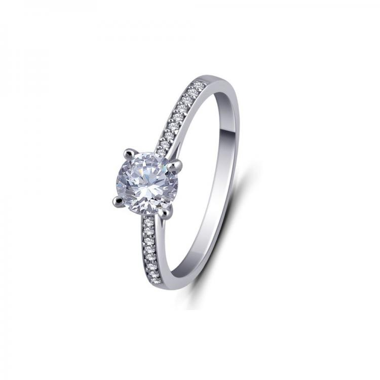 Regal Solitaire Ring