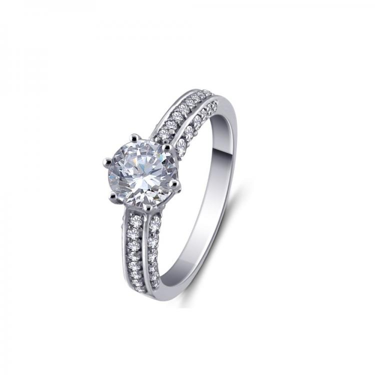 Princess-Cut Solitaire Ring