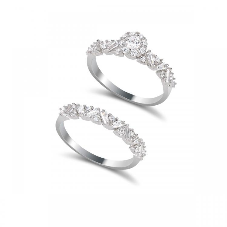 Balzo Silver Stackable Rings