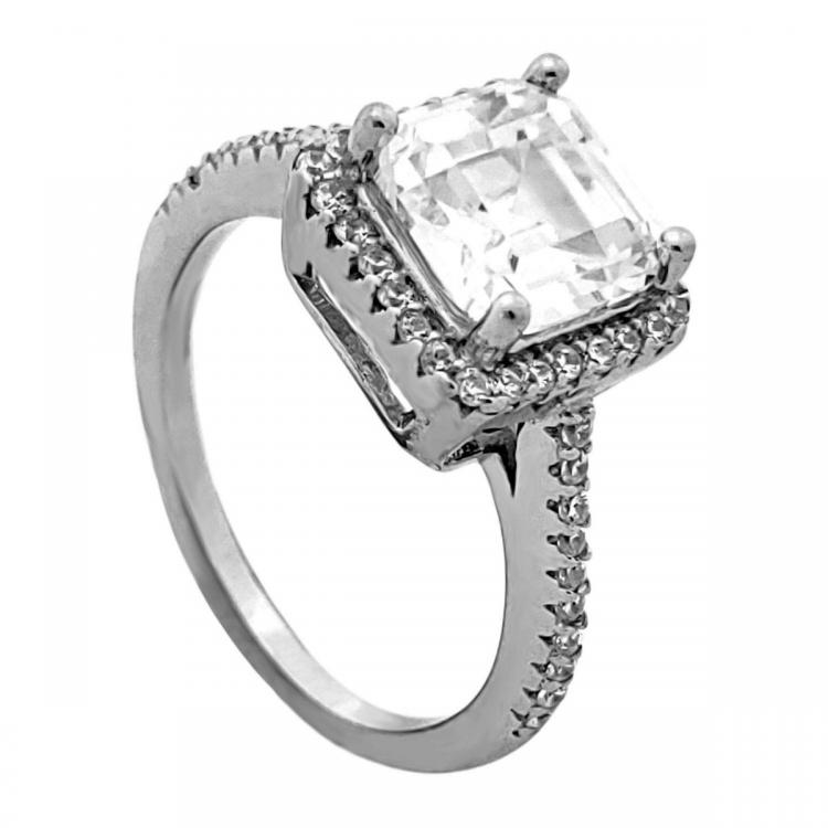 Balzo Cubic Zirconia Ladies Ring