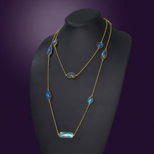 Nazakat Multi-colored Long Necklace