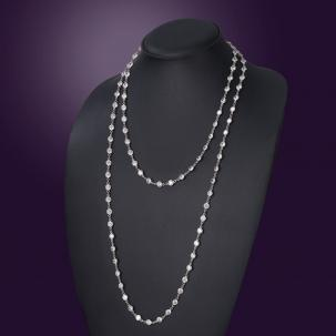 Nazakat Diamond Long Necklace